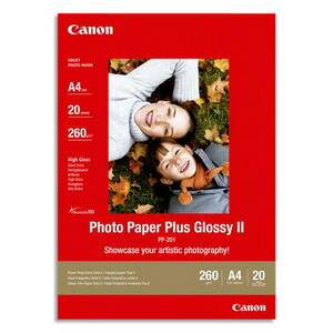 Canon Photo Paper Plus PP-201 Photo Paper - A3 - 297 mm x 420 mm - Glossy - 20 x Sheet