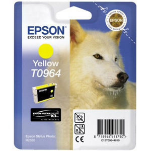 Epson UltraChrome T0964 Ink Cartridge - Yellow