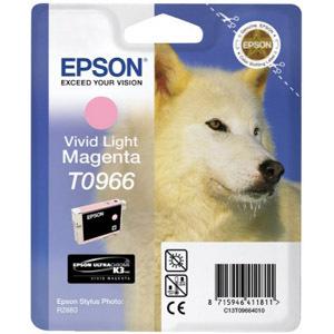Epson UltraChrome T0966 Ink Cartridge - Light Magenta