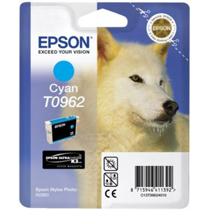 Epson UltraChrome T0962 Ink Cartridge - Cyan