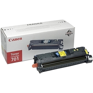 Canon 701 Toner Cartridge - Yellow