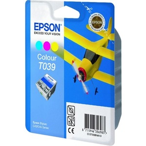 Epson T039 Ink Cartridge - Colour