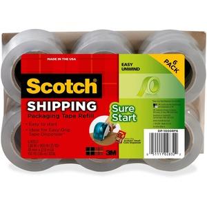 Scotch® Sure Start Packaging Tape - 6 pk