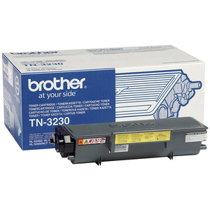 Brother TN-3230 Toner Cartridge - Black - Laser - 3000 Page - 1 Pack