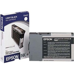 Epson T5437 Ink Cartridge - Light Black