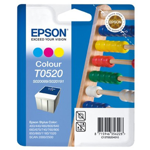 Epson T0520 Ink Cartridge - Colour
