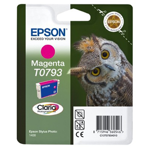 Epson Claria T0793 Ink Cartridge - Magenta
