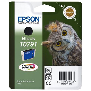 Epson T079 Ink Cartridge - Black