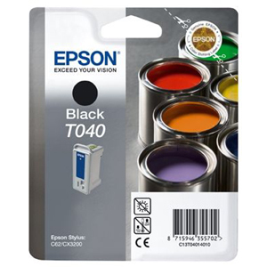 Epson T040 Ink Cartridge - Black