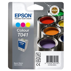 Epson T041 Ink Cartridge - Colour