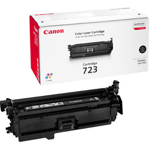 Canon No. 723 Toner Cartridge - Black