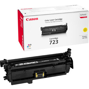 Canon No. 723 Toner Cartridge - Yellow