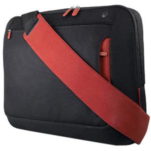 Belkin F8N244EABR Notebook Case - Polyester - Jet, Cabernet