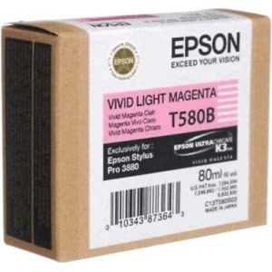Epson UltraChrome T580B Ink Cartridge - Light Magenta