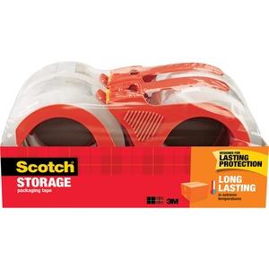 Scotch® Long Lasting Storage Packaging Tape w/dispenser