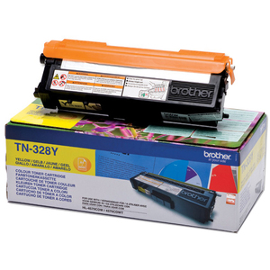 Brother TN328Y Toner Cartridge - Yellow