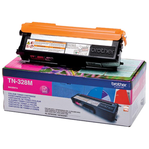 Brother TN328M Toner Cartridge - Magenta