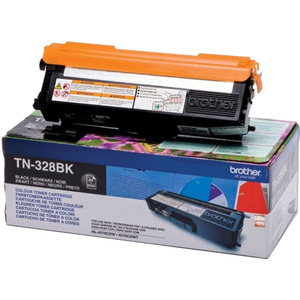 Brother TN328BK Toner Cartridge - Black