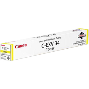 Canon C-EXV34 Toner Cartridge - Yellow