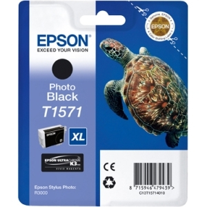 Epson UltraChrome K3 T1571 Ink Cartridge - Photo Black