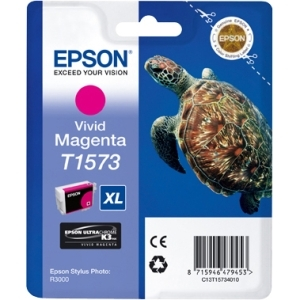 Epson UltraChrome K3 T1573 Ink Cartridge - Magenta