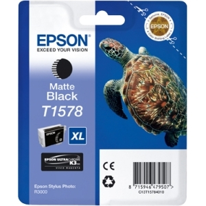 Epson UltraChrome K3 T1578 Ink Cartridge - Matte Black