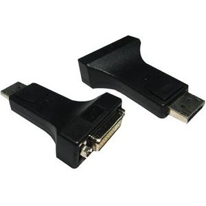Cables Direct Video Adapter - 1 x DisplayPort Male Digital Audio/Video - 1 x DVI-D Female Digital Video
