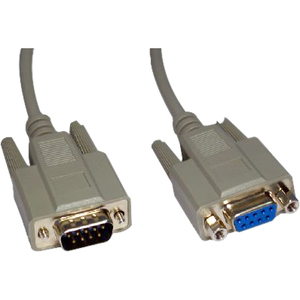 Cables Direct EX-011 Video Cable for Monitor - 2 m - 1 x DB-9 Male Video - 1 x DB-9 Female Video - Extension Cable