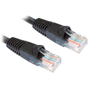 Cat 6 Network Cable 1m  Black LSZH