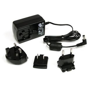 StarTech.com 12V DC 1.5A Universal Power Adapter - 12V DC - 1.5A For KVM Switch