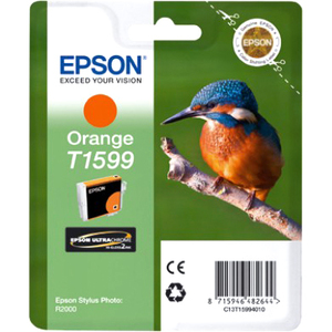 Epson UltraChrome Hi-Gloss2 T1599 Ink Cartridge - Orange
