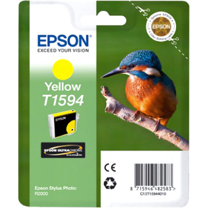 Epson UltraChrome Hi-Gloss2 T1594 Ink Cartridge - Yellow