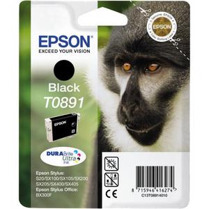 Epson DURABrite Ultra T0891 Ink Cartridge - Black