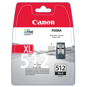 Canon PG-512 Ink Cartridge - Black