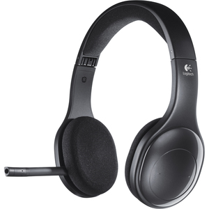 Logitech H800 Wireless Bluetooth Stereo Headset - Over-the-head - Ear-cup - Black