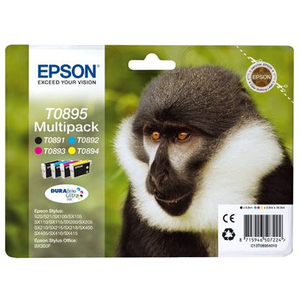 Epson T0895 Ink Cartridge - Black, Cyan, Yellow