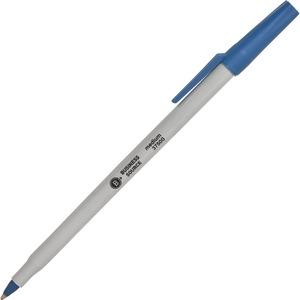 Business Source Medium Point Ballpoint Stick Pens
