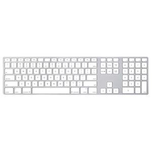 Apple MB110LB/B Keyboard - Cable Connectivity - Aluminium