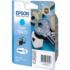 Epson DURABrite T0472 Ink Cartridge - Cyan