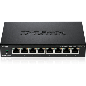 D-Link DGS-108 8 Ports Ethernet Switch
