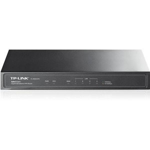 TP-LINK TL-R600VPN Gigabit Broadband VPN Router, 1 Gigabit WAN port + 4 Gigabit LAN ports, Supports IPsec, PPTP, L2TP VPN Tunnels