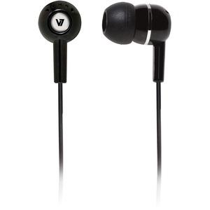 V7 HA100-2EP Cable Stereo Earphone - Earbud - Open