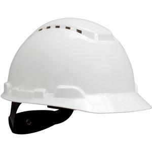 3M Hard Hat - 4 Point Ratchet Suspension - Vented