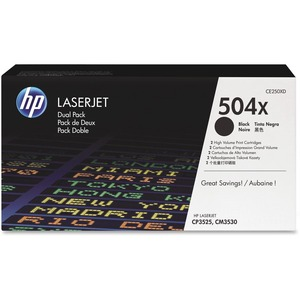 HP 504X Toner Cartridge - Black