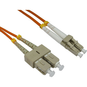 2m Cables Direct Fibre Optic Network Cable OM2 LC - SC