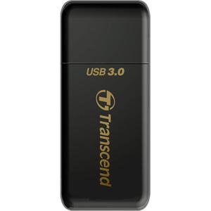 Transcend RDF5 Flash Reader - USB 3.0 - External - SDXC, SDHC, microSDXC, microSDHC, microSD, SD, TransFlash