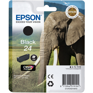 Epson Claria 24 Ink Cartridge - Black