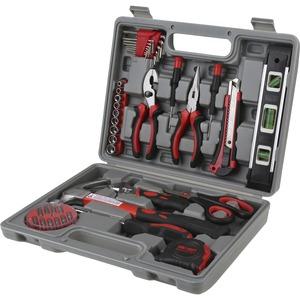Genuine Joe 42 Piece Tool Kit with Case - Gray