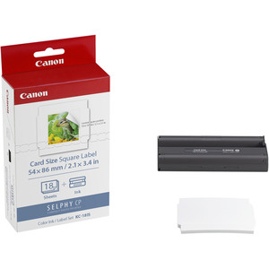 Canon KC-18IS Ribbon Cartridge - Colour