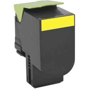 Lexmark Unison 702HY Toner Cartridge - Yellow